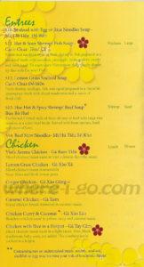Viets AromaPho  Restaurant Menu - Frederick, MD - Page 3