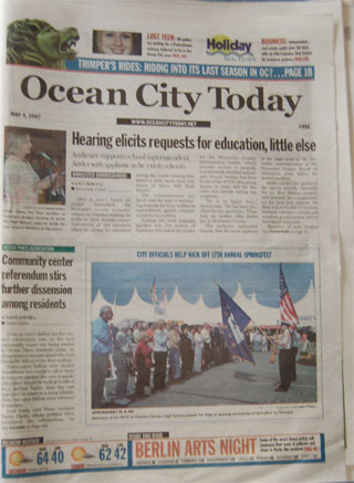 Ocean City Today Newspaper