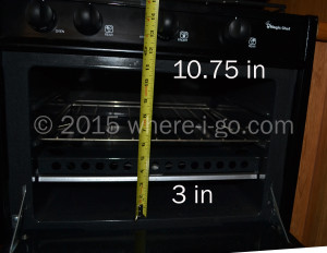 Interior Height of RV Oven