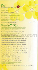 Viets Aroma Pho Restaurant Menu - Frederick, MD - Page 4