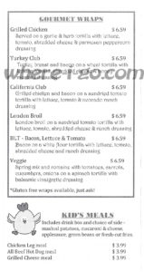 Watsons Carry Out Menu, Jefferson, Md -  Page 6